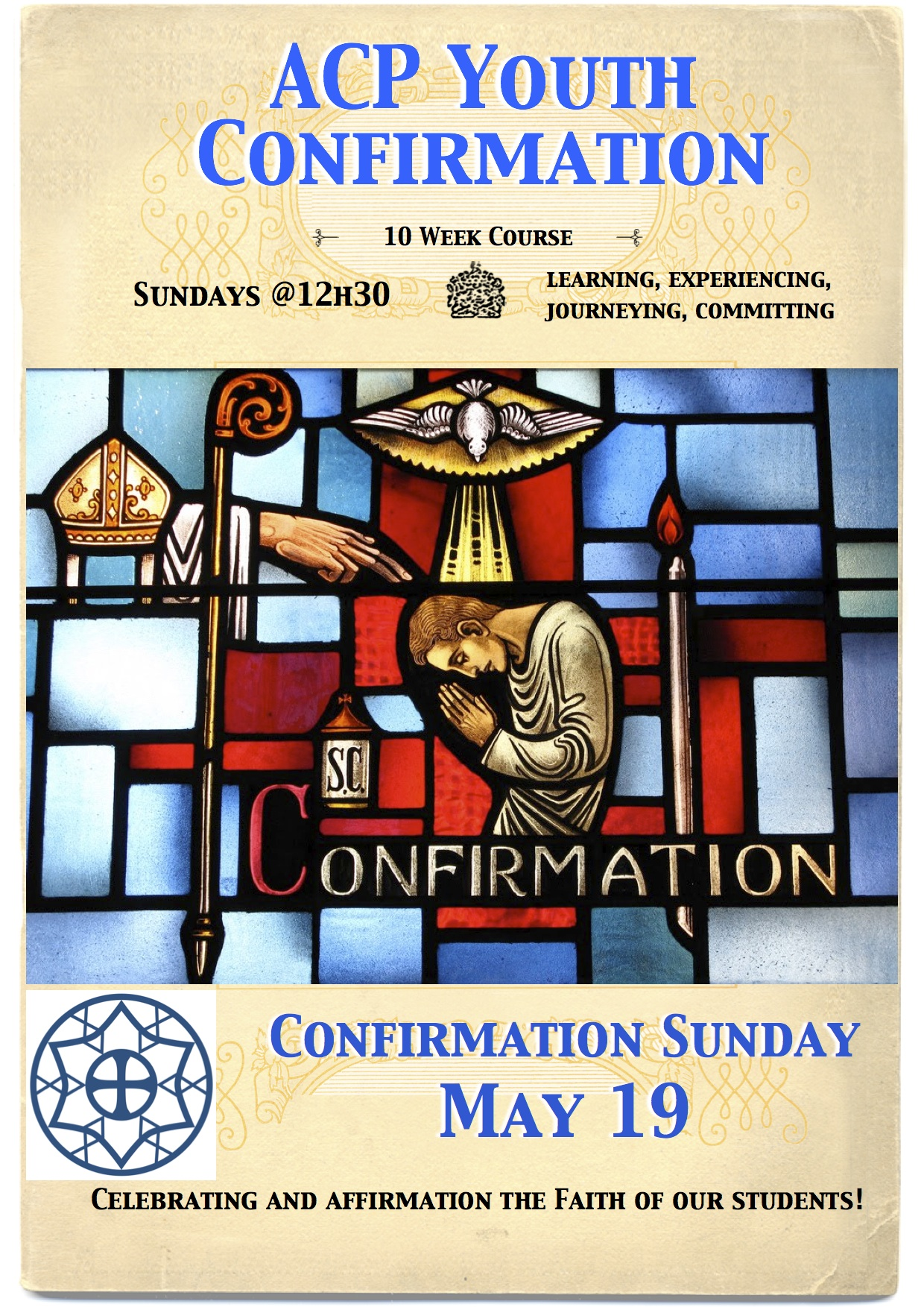Confirmation 19 May