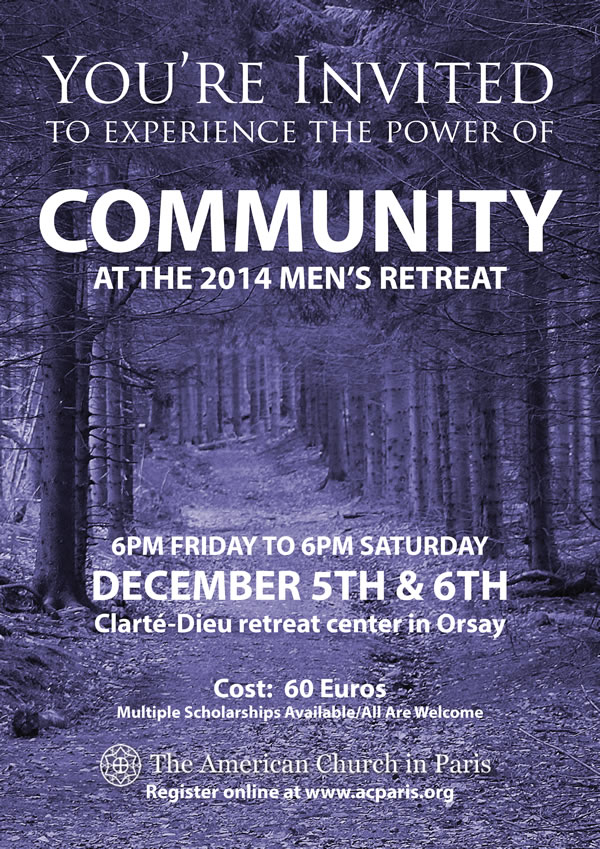 Men's Retreat -- 5-6 December