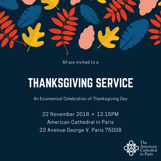 Thanksgiving Service