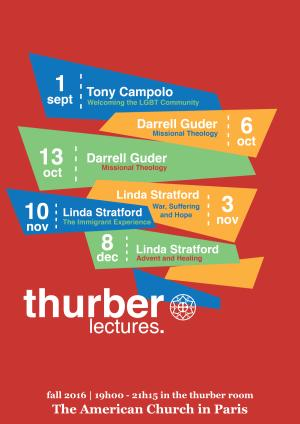 Thurber Thursday Lectures Fall 2016