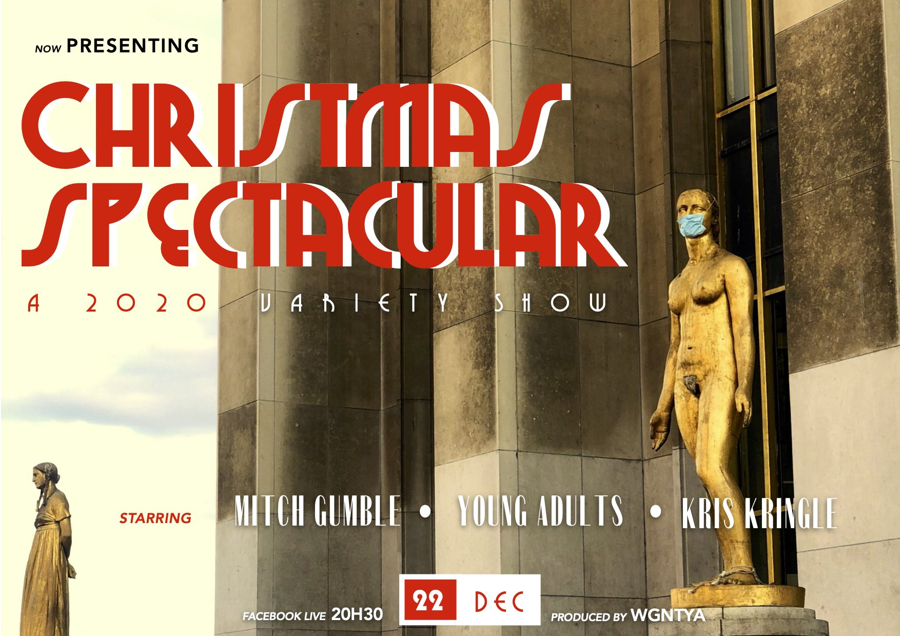 YA Christmas Spectacular Poster